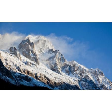 Montagne blanche, impression sur Déco'R,  Imprim'Déco spécialiste du grand format