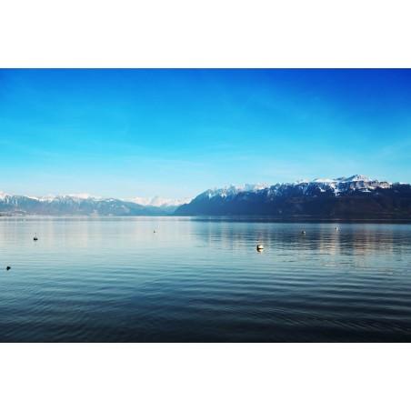 Lac des Alpes, impression sur Déco'R,  Imprim'Déco spécialiste du grand format