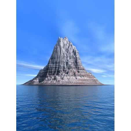 Ile rocher, impression sur papier peint intissé, Imprim'Déco spécialiste du grand format