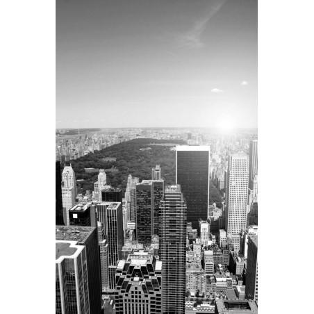 Grattes ciel en noir et blanc, impression sur papier peint intissé, Imprim'Déco spécialiste du grand format