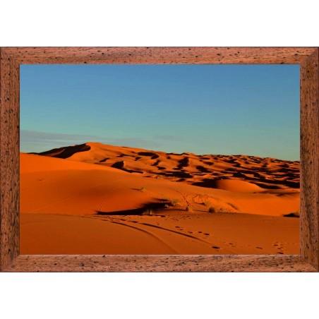 Dunes désert Marocain, exclusivité de Imprim'Déco, magasin en ligne spécialisé en déco murale