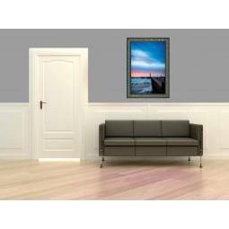 Tableau Couché de soleil sur la jetée 2, exclusivité de Imprim'Déco, magasin en ligne spécialisé en déco murale