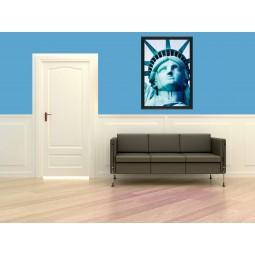 Tableau Tête de la statue de la Liberté, exclusivité de Imprim'Déco, magasin en ligne spécialisé en déco murale