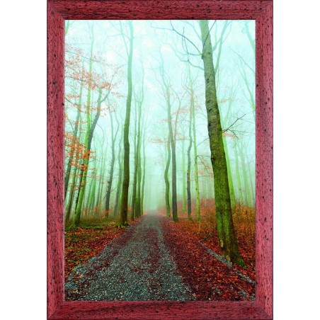 Tableau Chemin dans les bois d'automne, exclusivité de Imprim'Déco, magasin en ligne spécialisé en déco murale