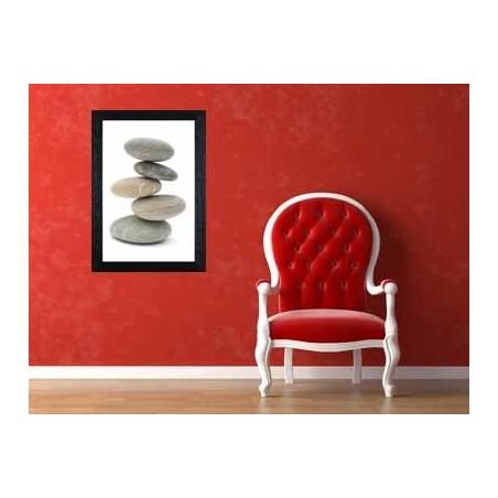 Tableau Pile de galets, exclusivité de Imprim'Déco, magasin en ligne spécialisé en déco murale
