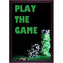 Tableau Casino, exclusivité de Imprim'Déco, magasin en ligne spécialisé en déco murale