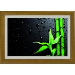Tableau Bambou avec feuilles, exclusivité de Imprim'Déco, magasin en ligne spécialisé en déco murale