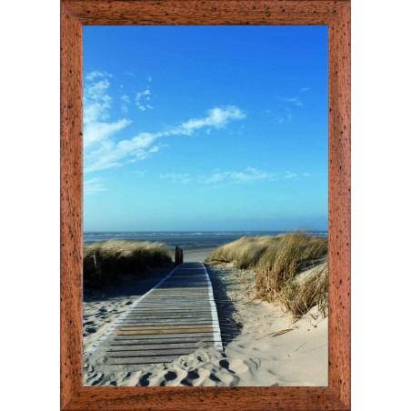 Tableau ponton sur la plage, exclusivité de Imprim'Déco, magasin en ligne spécialisé en déco murale