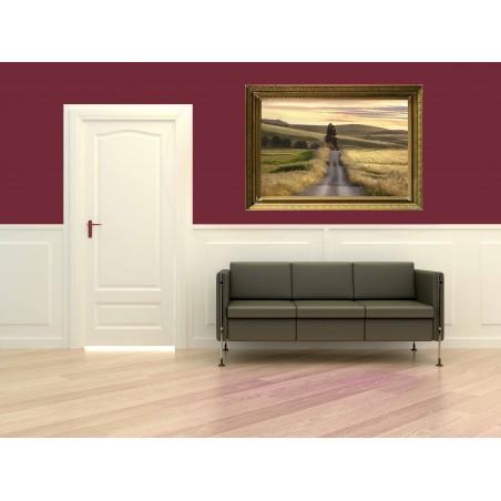 Tableau long way road 2, exclusivité de Imprim'Déco, magasin en ligne spécialisé en déco murale