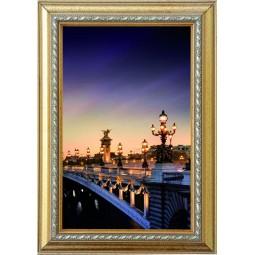 Tableau Pont de Paris la nuit 2