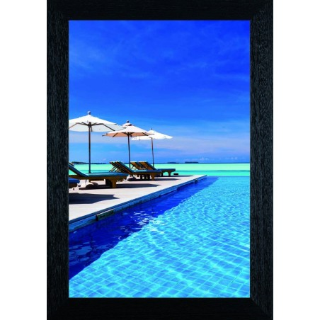 Tableau Parasol sur ponton, exclusivité de Imprim'Déco, magasin en ligne spécialisé en déco murale