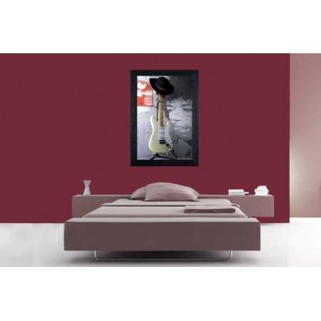 Tableau Jimmy Hendrix, exclusivité de Imprim'Déco, magasin en ligne spécialisé en déco murale