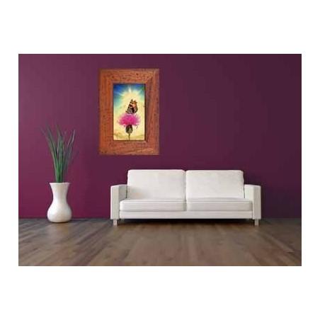 Tableau Papillon sur une fleur 2, exclusivité de Imprim'Déco, magasin en ligne spécialisé en déco murale
