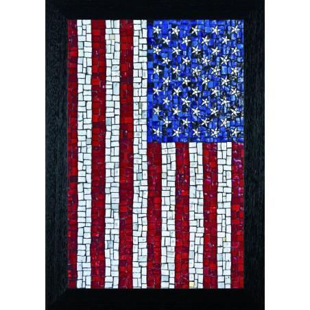 Tableau US Flag, exclusivité de Imprim'Déco, magasin en ligne spécialisé en déco murale