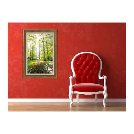 Tableau Jardin, exclusivité de Imprim'Déco, magasin en ligne spécialisé en déco murale