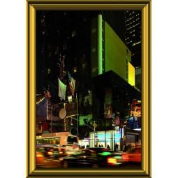 Tableau Rue de New York le soir, exclusivité de Imprim'Déco, magasin en ligne spécialisé en déco murale