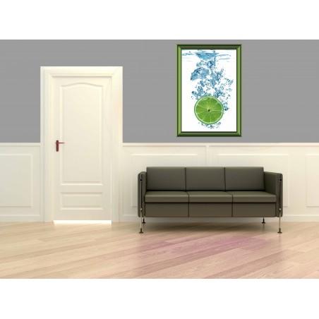 Tableau Citron vert, exclusivité de Imprim'Déco, magasin en ligne spécialisé en déco murale