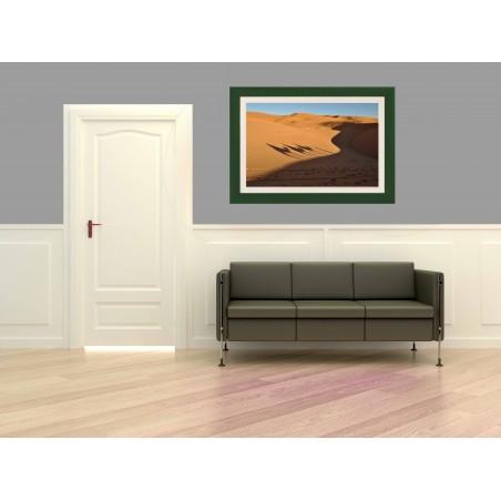 Tableau Ombres dans le désert 2, exclusivité de Imprim'Déco, magasin en ligne spécialisé en déco murale
