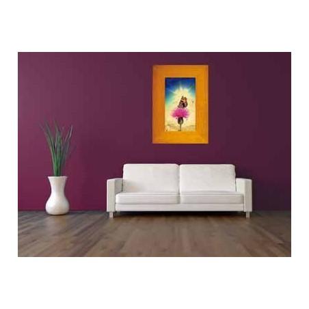 Tableau Papillon sur une fleur 9, exclusivité de Imprim'Déco, magasin en ligne spécialisé en déco murale