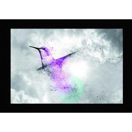Tableau Oiseau éclatant, exclusivité de Imprim'Déco, magasin en ligne spécialisé en déco murale
