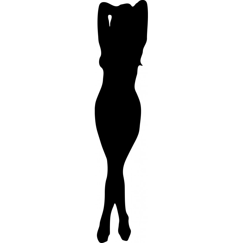 Sticker silhouete sexy