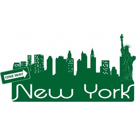 Sticker mural New York