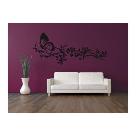 Sticker mural butterfly