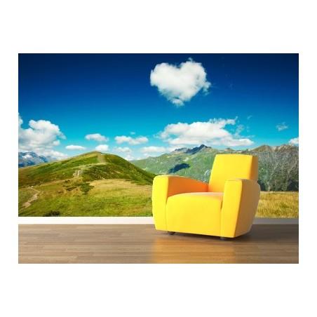 Panoramique des Alpes , impression sur Déco'R,  Imprim'Déco spécialiste du grand format