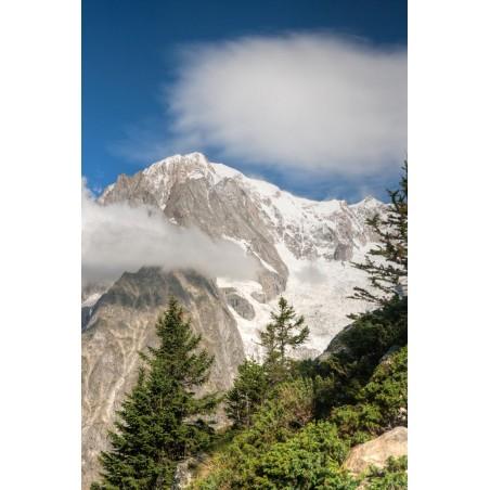 Sommet des Alpes dans les nuages, impression sur Déco'R