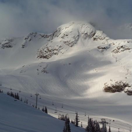 Panoramique Alpes enneigées , impression sur Déco'R,  Imprim'Déco spécialiste du grand format