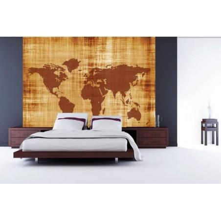 Vieille mappe monde , impression sur Déco'R,  Imprim'Déco spécialiste du grand format