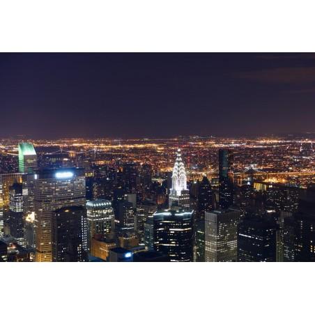 Nuit sur la ville, impression sur Déco'R,  Imprim'Déco spécialiste du grand format