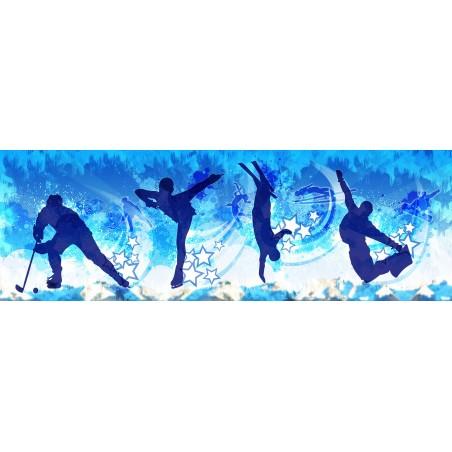 Sports d'hiver , impression sur Déco'R,  Imprim'Déco spécialiste du grand format