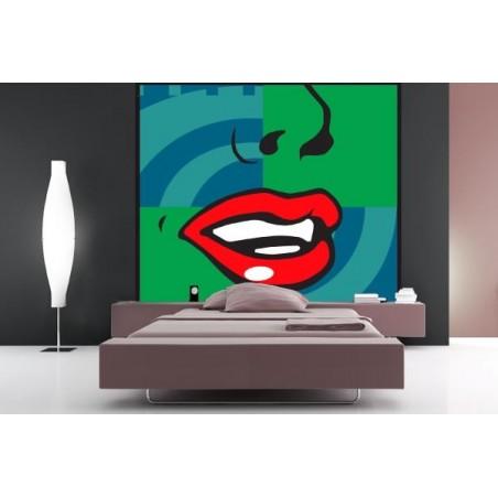 Red lips, impression sur Déco'R, Imprim'Déco spécialiste du grand format
