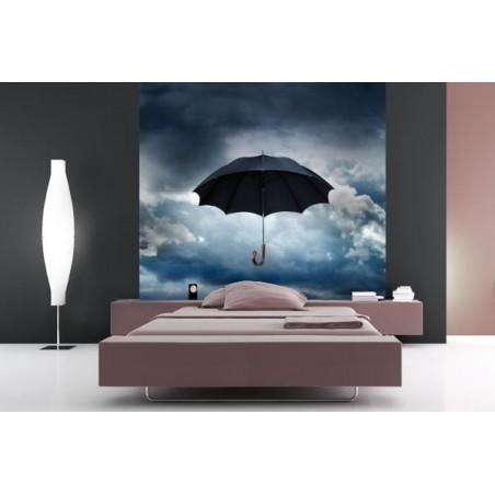 Envol de parapluie, impression sur Déco'R, Imprim'Déco spécialiste du grand format