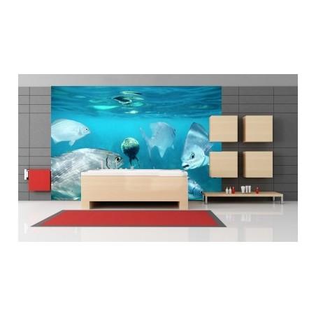 Aquarium, impression sur Déco'R, Imprim'Déco spécialiste du grand format