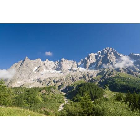 Massif des Alpes, impression sur papier peint intissé, Imprim'Déco spécialiste du grand format