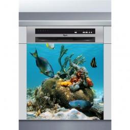 Stickers autocollants pour lave vaisselle pas cher for Vente aquarium en ligne