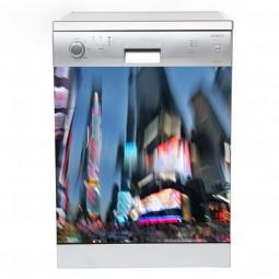 Sticker Lave Vaisselle New York de nuit