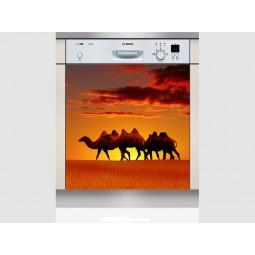 Sticker Lave Vaisselle chameaux