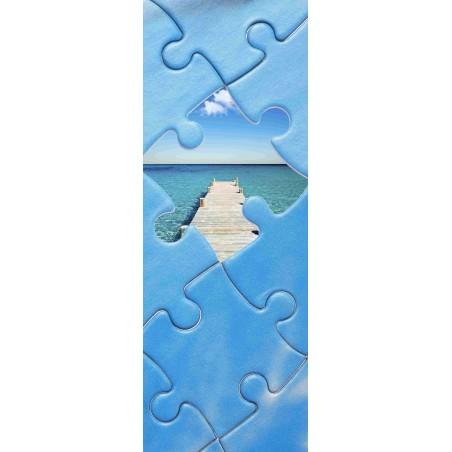 Poster porte puzzle