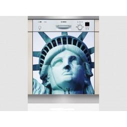 Sticker Lave Vaisselle Statue de la liberté