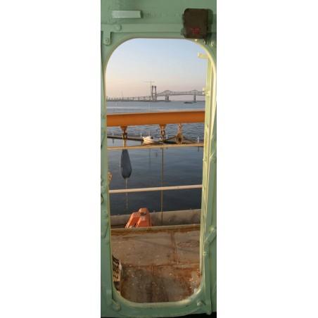 """Stickers porte """"vue du bateau"""""""