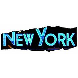 Sticker déchirure NY