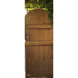 Sticker Décor de porte pour aller au jardin