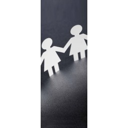 "Stickers porte ""boy and girl"""