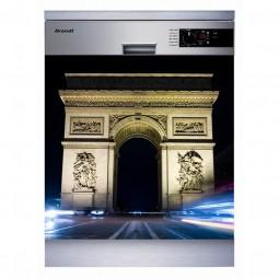 Sticker Lave Vaisselle arc de trimpohe , création Imprim'Déco, magasin vente en ligne stickers de décoration