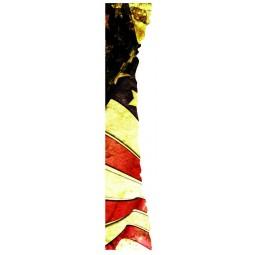 Sticker déchirure trompe l'oeil drapeau