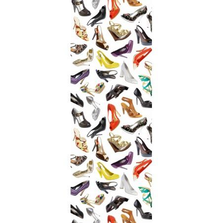Decoration de porte chaussures de filles