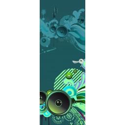 Decoration de porte  sound system